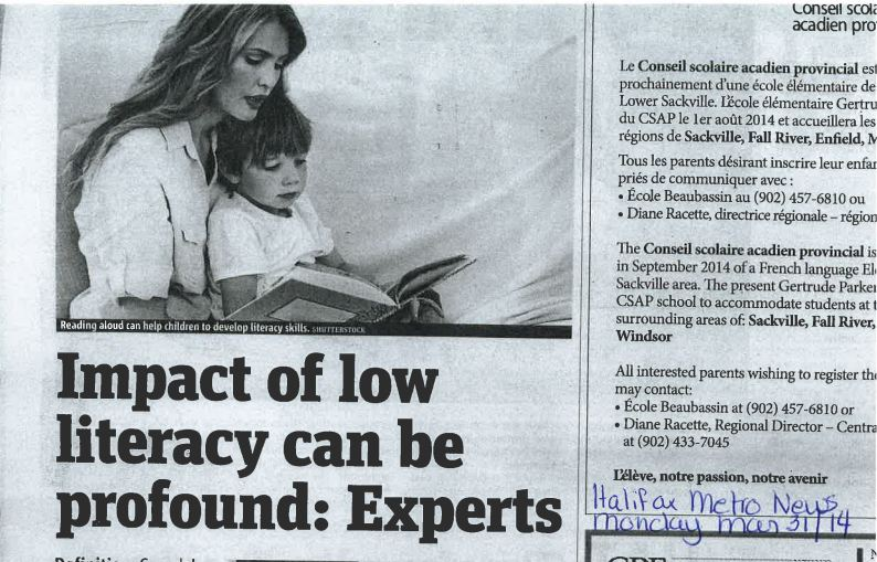 Impact of low literacy can be profound