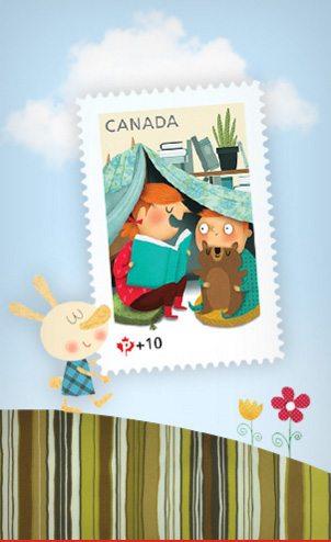 Canada-Post-Community-Post-Commemorative-FundraisingnStamp