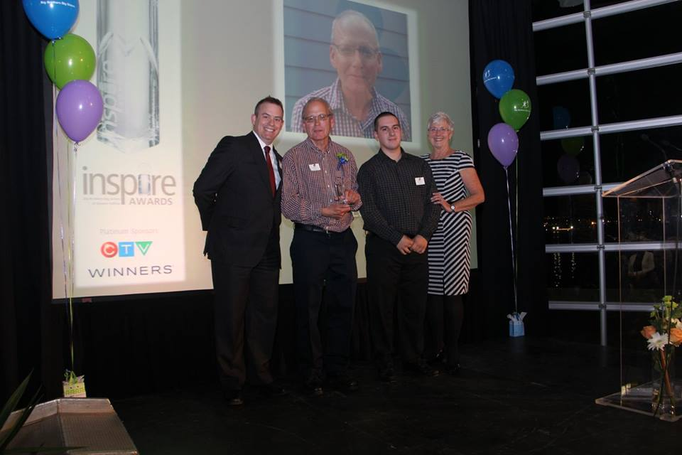 David Moir Big Brothers BIg Sisters INSPIRE Learning Award Recipient