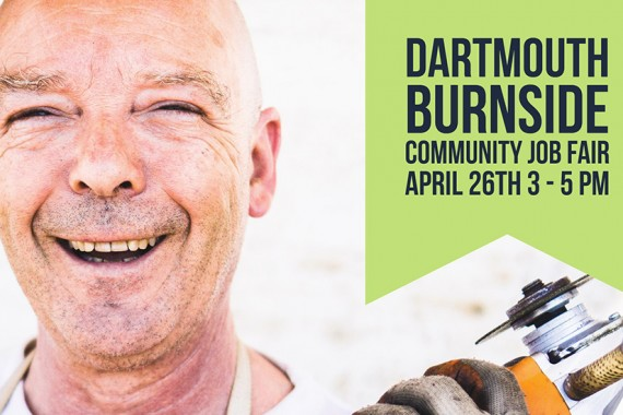 Dartmouth Burnside Community Job Fair – April 26, 3PM