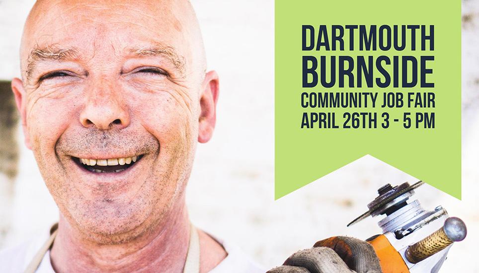 Dartmouth Burnside Community Job Fair – April 26, 3PM