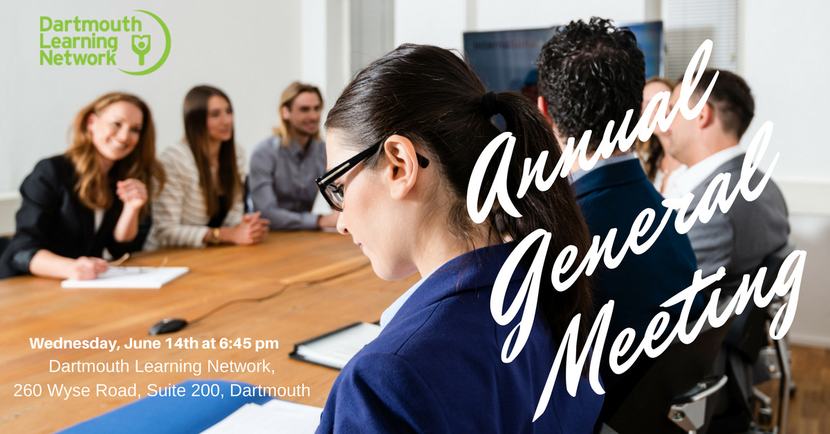 Annual General Meeting – June 14th