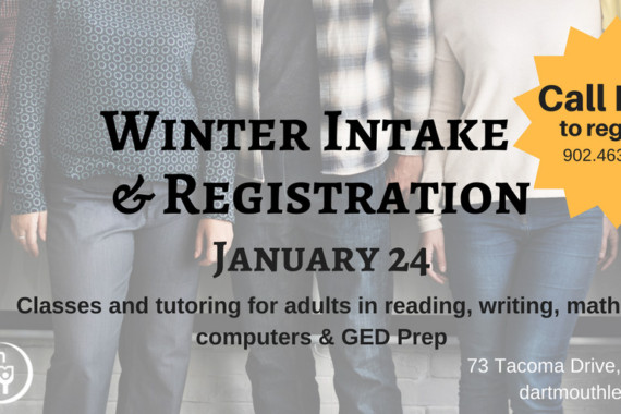 Winter Intake & Registration – January 24, 2018