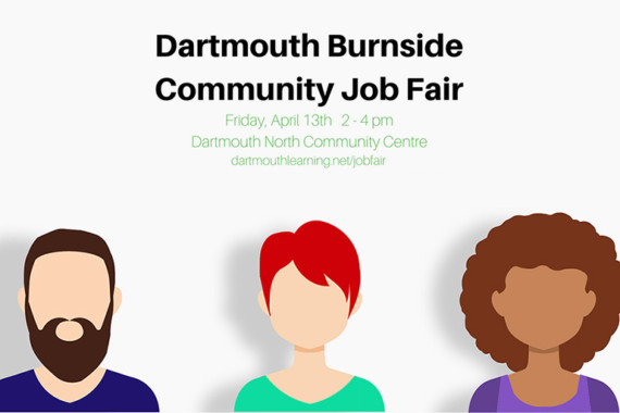Dartmouth Burnside Community Job Fair – Friday, April 13th, 2017