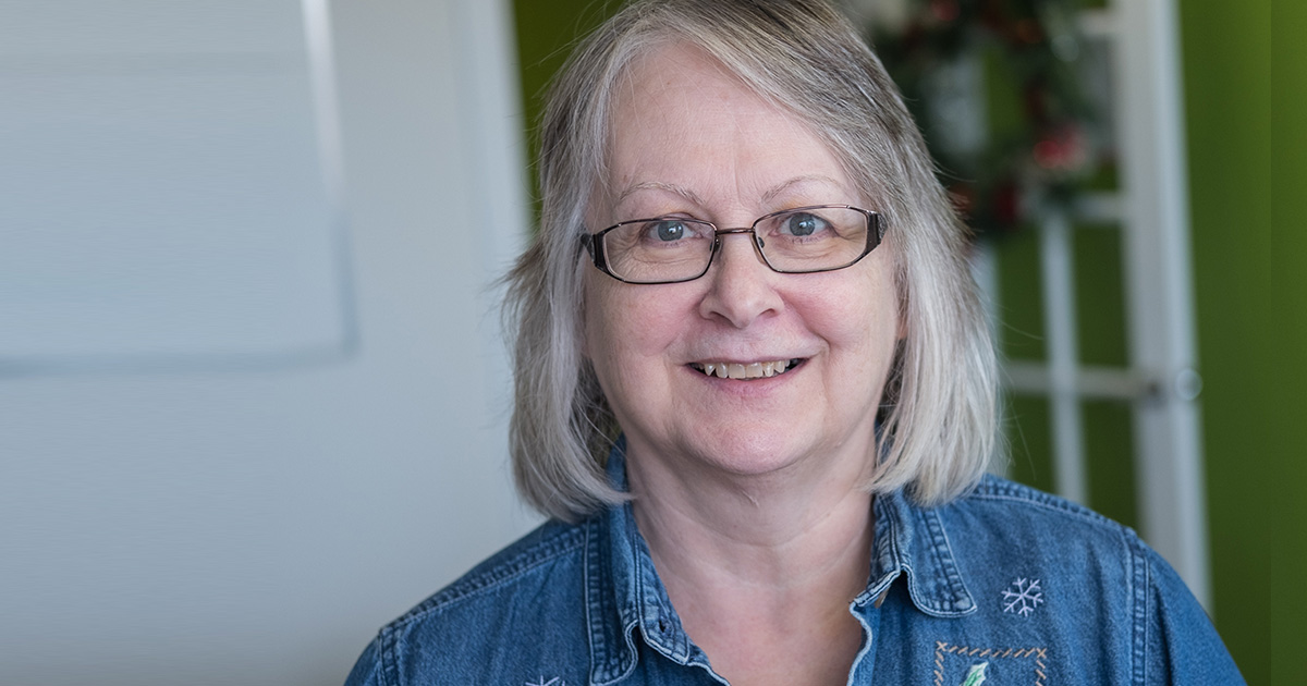 Linda: A Volunteer Who Steps Up