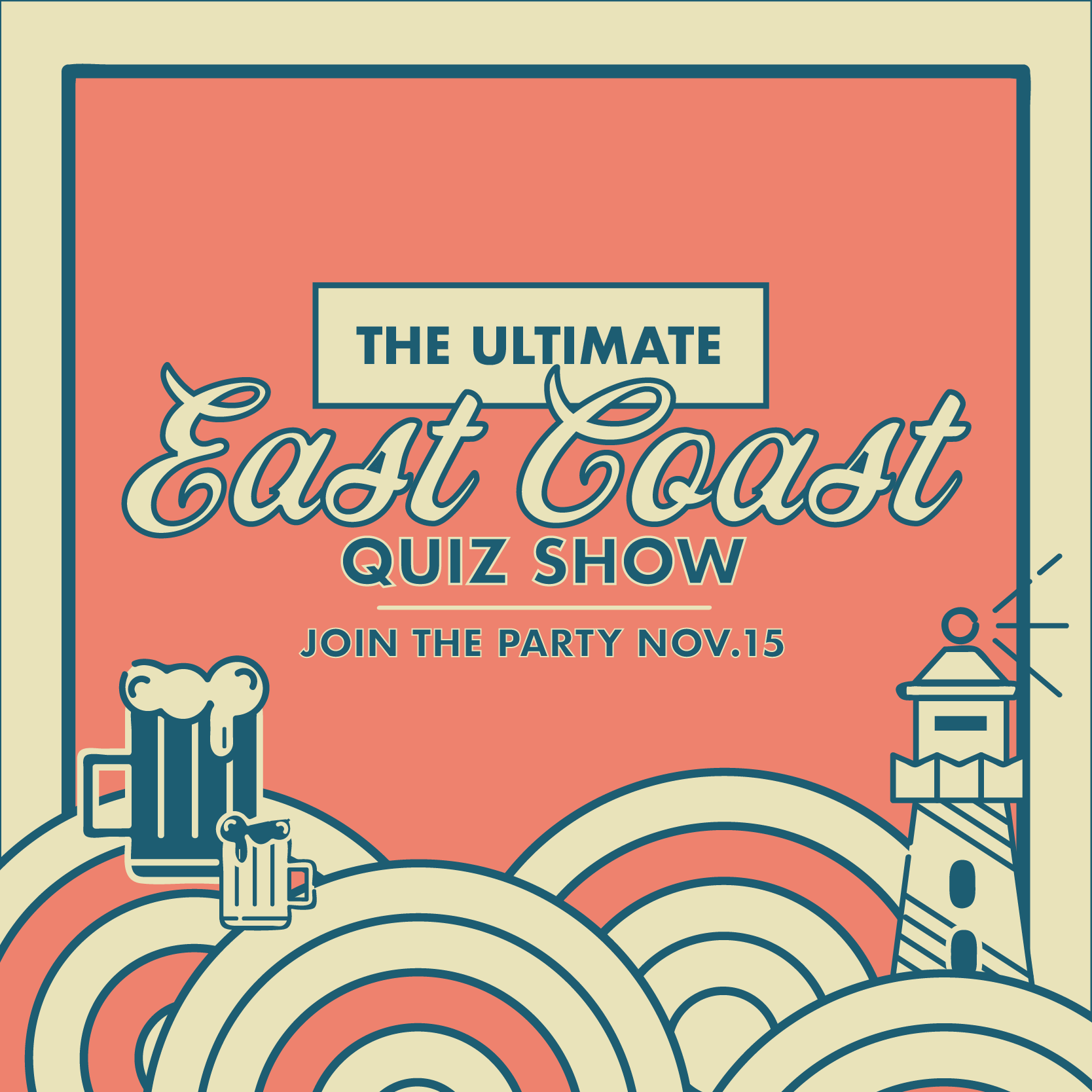 The Ultimate East Coast Quiz Show – Nov. 15